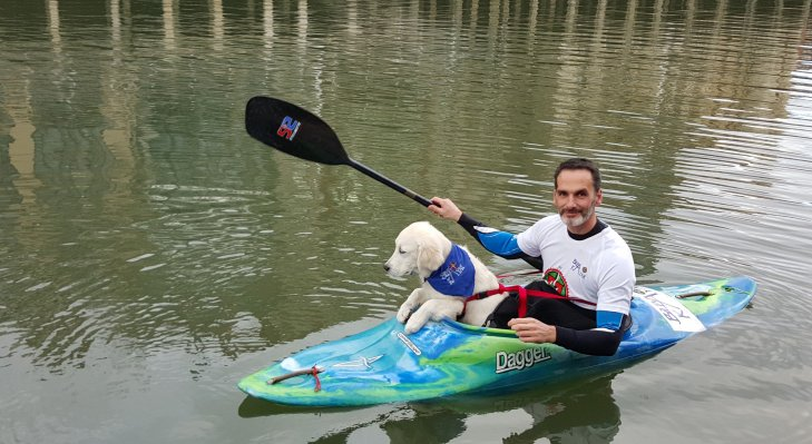 kayak. Foto- Dog Vivant